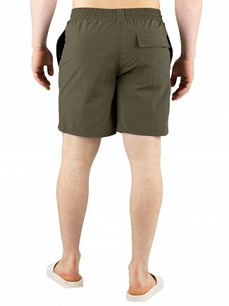 Lyle & Scott Dark Sage Plain Swim Shorts