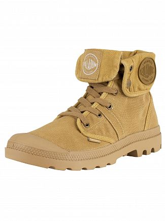 Palladium Woodlin/Honey Mustard Pallabrouse Baggy Boots