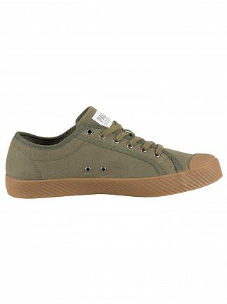 Palladium Olive Night Pallaphoenix Trainers