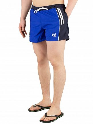 Sergio Tacchini Royal/Navy Cyprus Swim Shorts