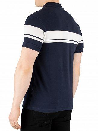 Sergio Tacchini Navy/White Young Line Poloshirt