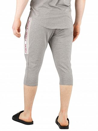 Sik Silk Grey Marl Performance Sweat Shorts