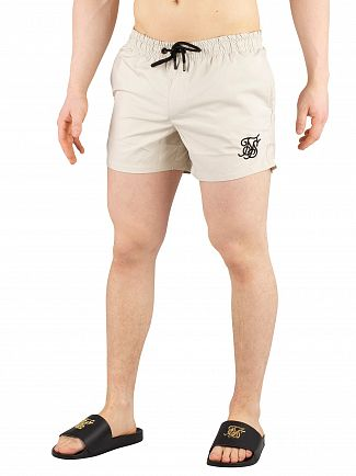 Sik Silk Light Beige Standard Swim Shorts