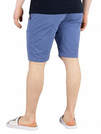 Superdry Neptune Blue International Slim Chino Shorts