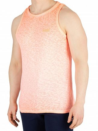 Superdry Bright Blast Coral Low Roller Vest