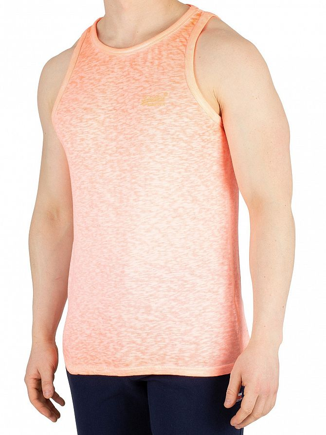 Superdry Bright Blast Coral Low Roller Vest