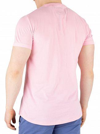 Superdry Prime Pink Orange Label Lite T-Shirt
