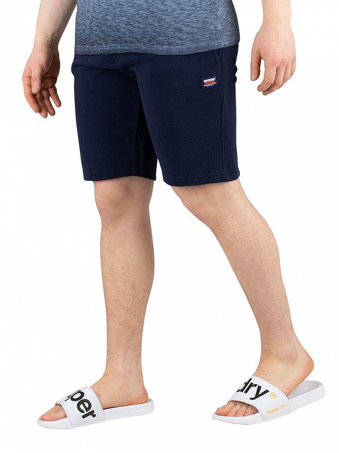 Superdry Beach Navy Original Sweat Shorts