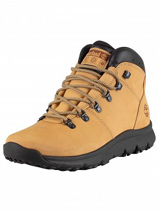 Timberland Medium Beige Nubuck World Hiker Boots