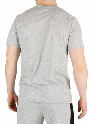 Calvin Klein Grey Heather Graphic Pyjama T-Shirt