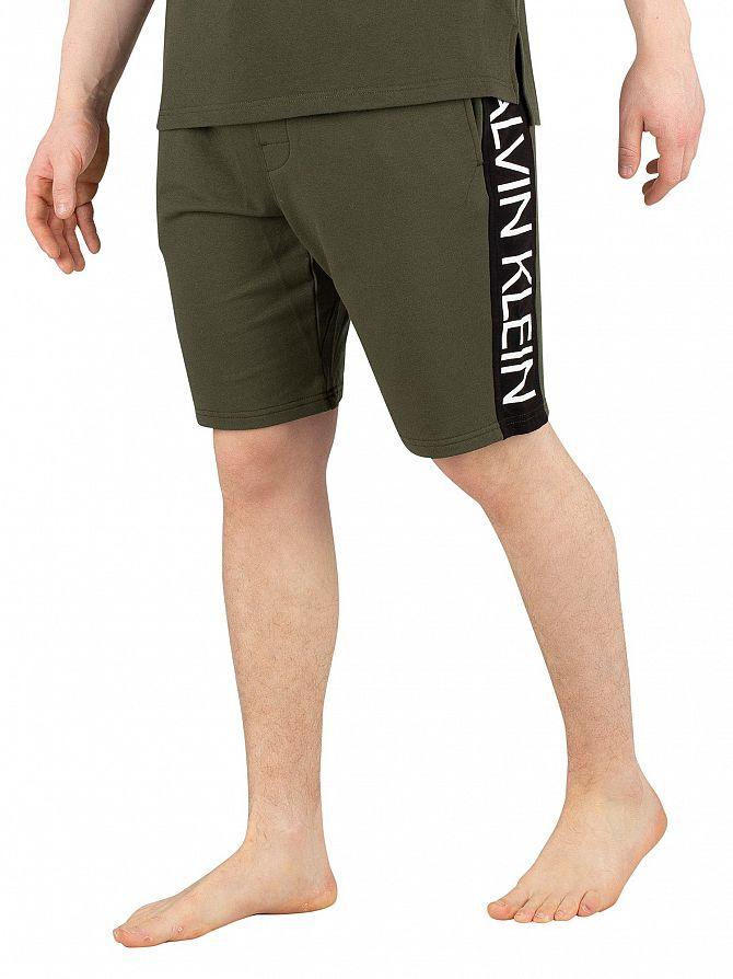 Calvin Klein Duffle Bag Graphic Sweat Shorts