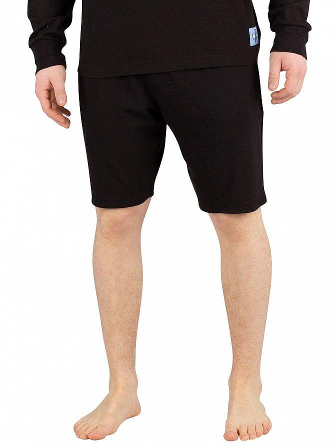 Calvin Klein Black Logo Sleep Shorts