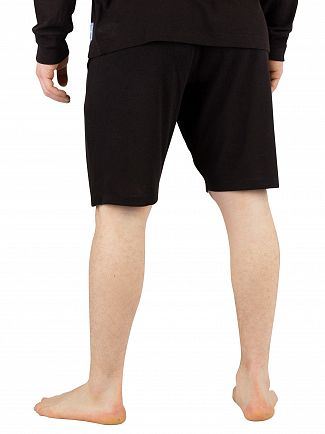 Calvin Klein Black Logo Sleep Shorts