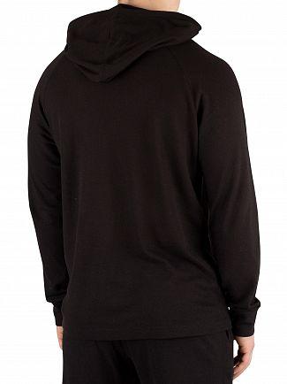 Calvin Klein Black Monogram Pyjama Hoodie