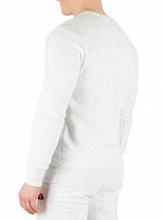 Ellesse White Marl Diveria Sweatshirt