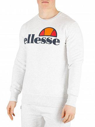 Ellesse White Marl Succiso Sweatshirt