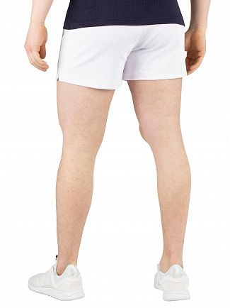 Sergio Tacchini White/Navy Time Archivio Sweat Shorts