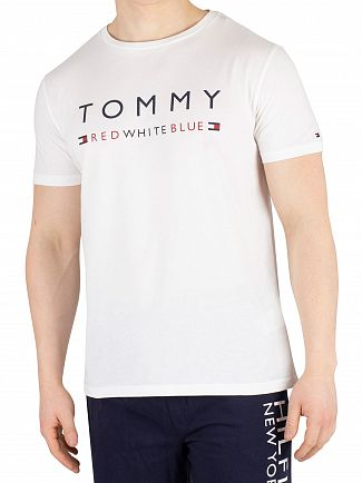 Tommy Hilfiger White Graphic T-Shirt