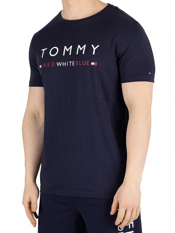 Tommy Hilfiger Navy Blazer Graphic T-Shirt