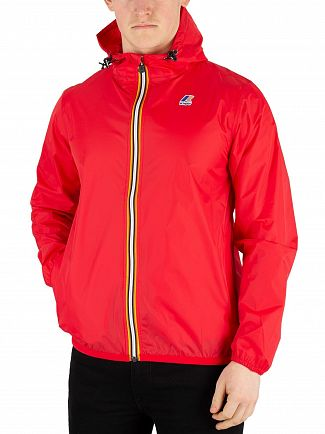 K-Way Red LE Vrai 3.0 Claude Packable Jacket