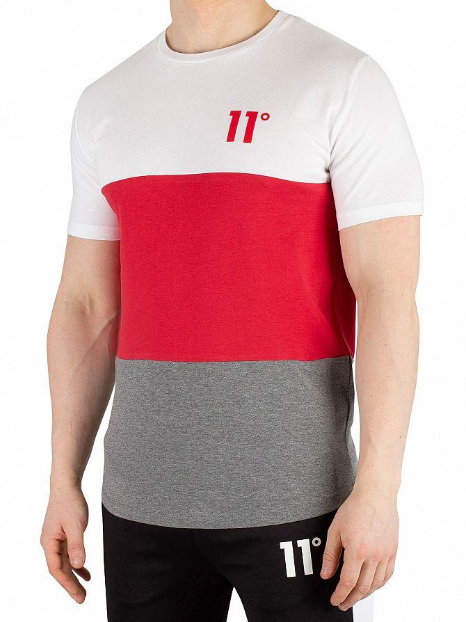 11 Degrees Vortex Triple Panel T-Shirt