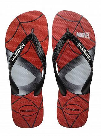 Havaianas Black Top Marvel Flip Flops