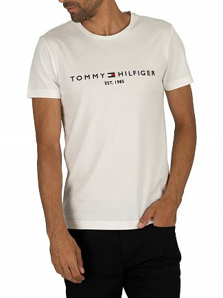 Tommy Hilfiger Snow White Logo T-Shirt
