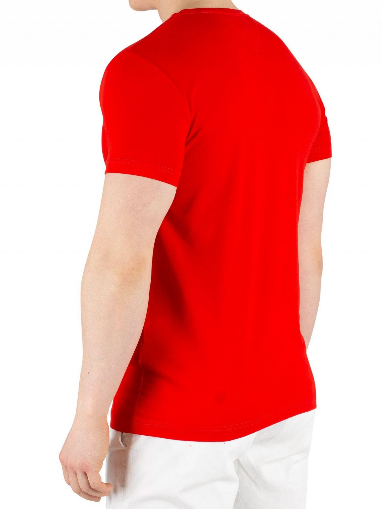 a7507293 Tommy Hilfiger Fiery Red Stretch Slim Fit T-Shirt | Standout