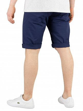 Carhartt WIP Blue Rinsed Swell Chino Shorts