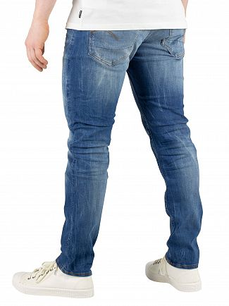 G-Star Sun Faded Blue 3301 Slim Fit Jeans