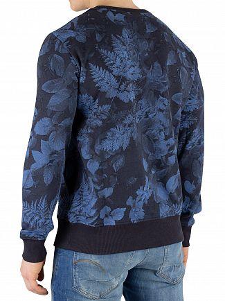 G-Star Dark Navy Core Sweatshirt