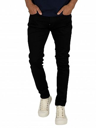 G-Star Pitch Black Revend Skinny Jeans