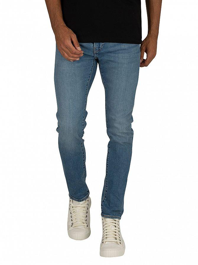 Levi's Cedar Light Midtone 519 Extreme Skinny Fit Jeans
