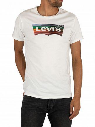 Levi's White Housemark Graphic T-Shirt