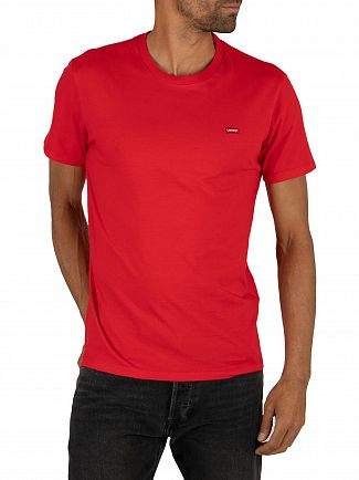 Levi's Brilliant Red Original T-Shirt