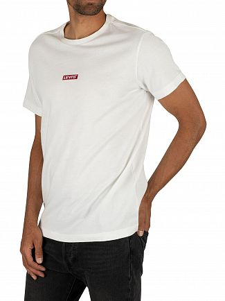 Levi's White Relaxed Baby Tab T-Shirt