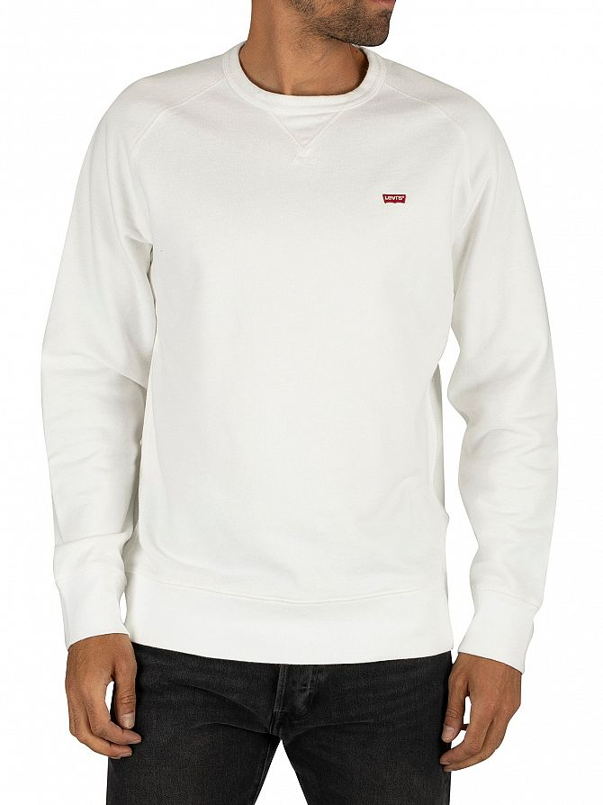 Levi's White Original Sweatshirt