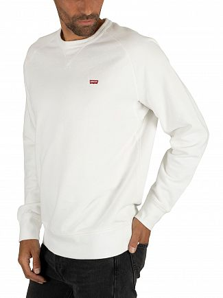 Levi's White Original Sweatshirt