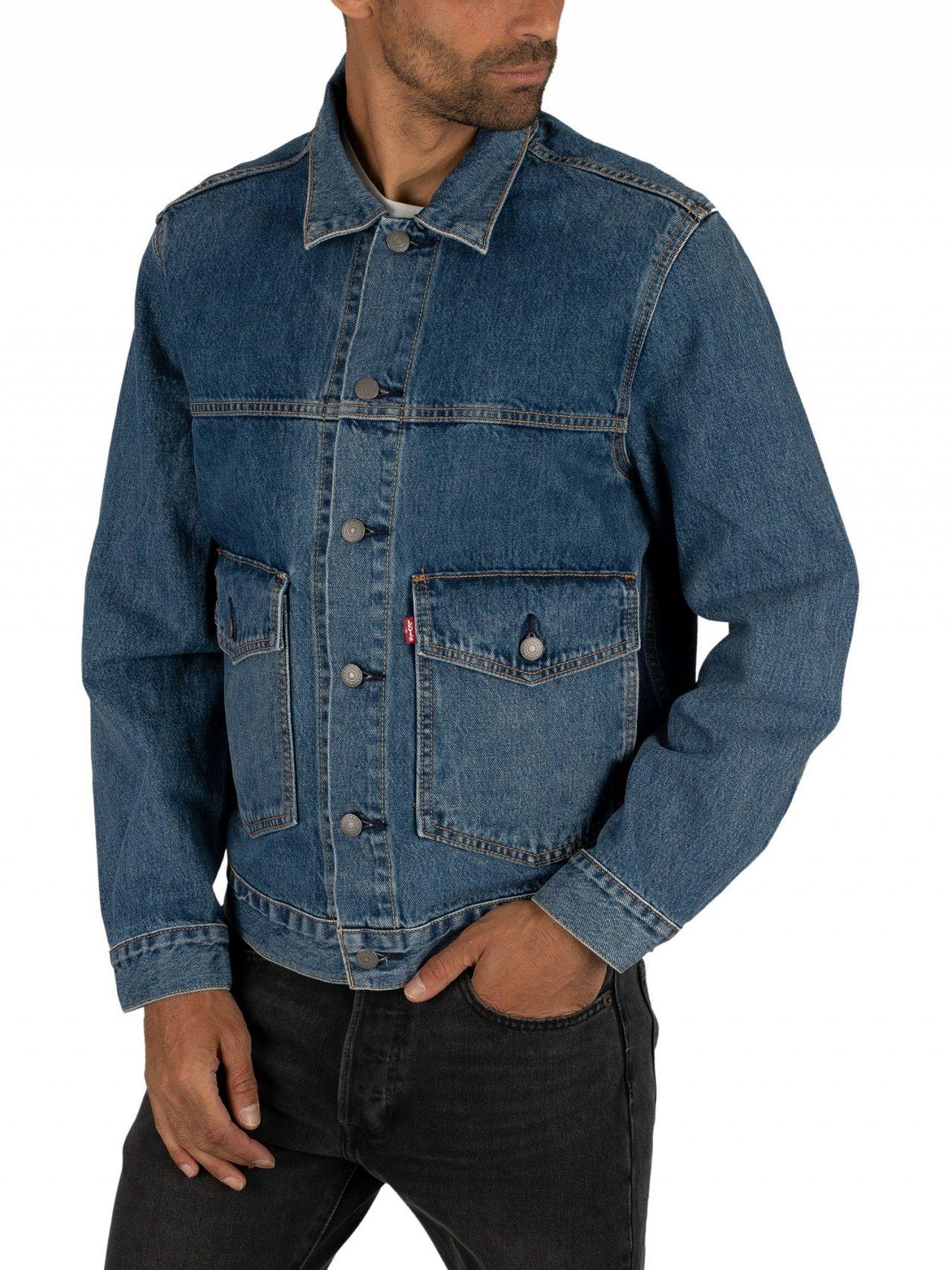 7c46ede1 Levi's Gear Box Patch Pocket Trucker Jacket | Standout
