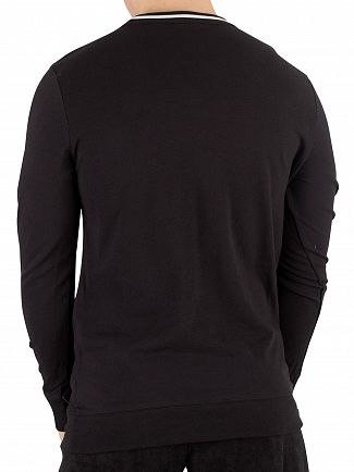 Calvin Klein Black Graphic Sweatshirt