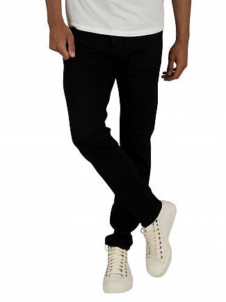 G-Star Pitch Black 3301 Slim Jeans