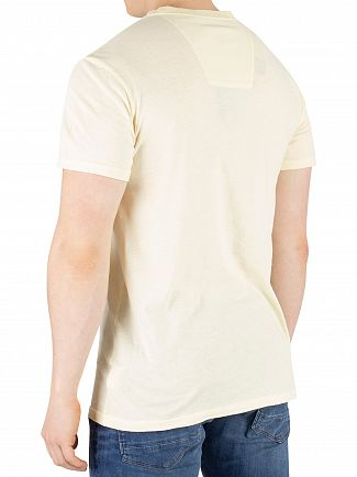 G-Star Light Buff Yellow Recycled Dye T-Shirt