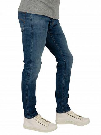 G-Star Medium Indigo Aged Revend Skinny Jeans