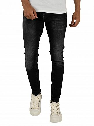 G-Star Medium Aged Faded Revend Skinny Jeans