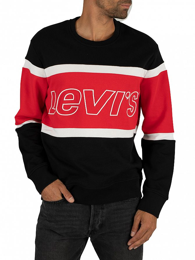 Levi's Jersey Pieced Sweatshirt