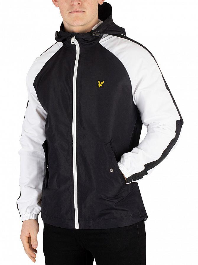 Lyle & Scott True Black Colour Block Jacket