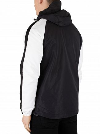 Lyle & Scott True Black Colour Block Jacket
