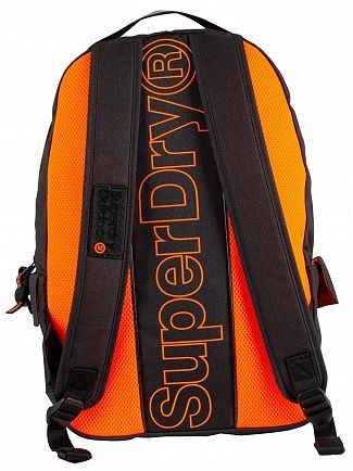 Superdry Black Marl Hollow Montana Backpack