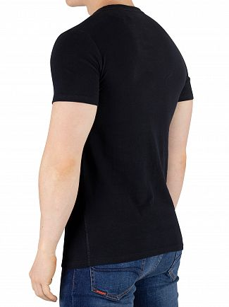 Superdry Eclipse Navy Retro Sport T-Shirt