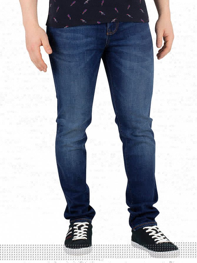 Superdry Union Dark Blue Tyler Slim Jeans